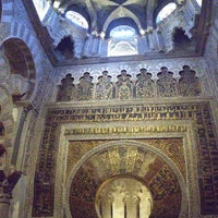 Photo taken at Mosque-Cathedral of Cordoba by Igor E. on 5/1/2013