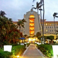 Photo taken at British Colonial Hilton by its Golda on 12/1/2012