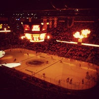 Photo taken at Scotiabank Saddledome by Shaleefa J. on 3/14/2013