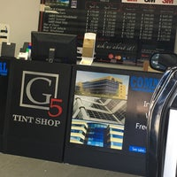 Photo taken at G5 Tint Shop & Window Covers by Psiclne on 9/1/2016