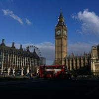 Photo taken at Parliament Square by Lenka Eni K. on 2/17/2013