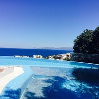 Photo taken at Elounda Gulf  Villas & Suites by Ice on 5/5/2015