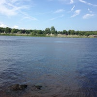 Photo taken at Pawcatuck River by Liz F. on 6/30/2014