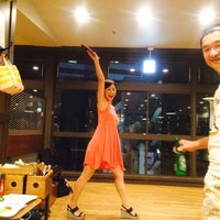 Photo taken at Shibuya Ping Pong Club by kaoling on 8/19/2014
