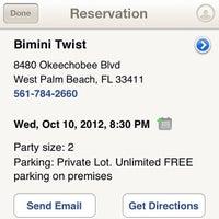 Photo taken at Bimini Twist by Rachel C. on 10/4/2012