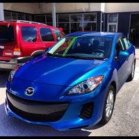 Photo taken at Delray Mazda by Rachel C. on 10/4/2012