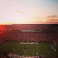 Photo taken at Pat Dye Field at Jordan-Hare Stadium by A.Lenay . on 10/6/2013