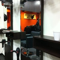 Photo taken at Yun Nam Hair Care, The Mines by Osmon G. on 11/4/2012