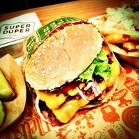 Photo taken at Super Duper Burger by Lukas on 10/7/2012