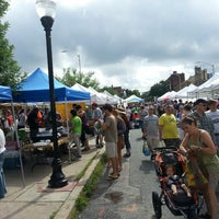 Photo taken at 32nd Street Farmer's Market by Pete C. on 7/13/2013