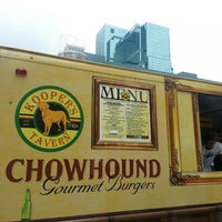 Photo taken at Kooper's Chowhound Burger Wagon by Pete C. on 6/3/2013