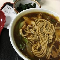 Photo taken at そば処 味奈登庵 保土ヶ谷区役所店 by このり on 2/24/2016