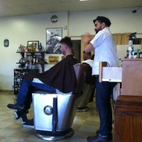 Photo taken at Stay Gold Barber Shop by Ernie L. on 11/10/2012