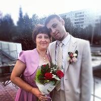 Photo taken at ЗАГС Ленинского района by Fyodor K. on 9/22/2012