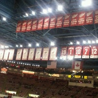 Photo taken at Joe Louis Arena by Rob D. on 2/10/2013