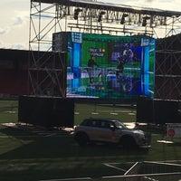 Photo taken at Stade de la Maladiere by Mehmet D. on 6/27/2016