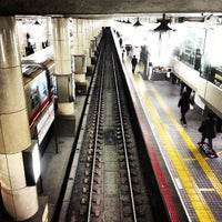 Photo taken at Midosuji Line Tennoji Station (M23) by Ahmed A. on 3/19/2013