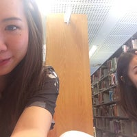 Photo taken at Temasek Polytechnic Library by Celia S. on 2/25/2014
