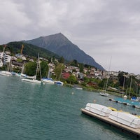 Photo taken at Spiez by Taqi A. on 7/9/2017