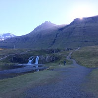 Photo taken at Kirkjufellsfoss by Adam B. on 8/29/2016