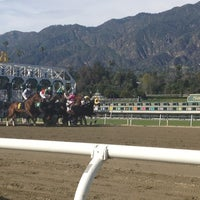 Photo taken at Santa Anita Park by John H. on 2/17/2013