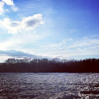 Photo taken at Delaware River by Thomas R. on 1/6/2014