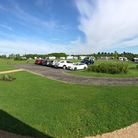 Photo taken at Drayton Manor Camping and Caravanning Club Site by Garry S. on 5/20/2017