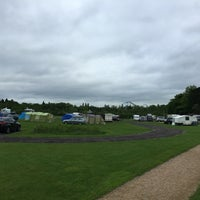 Photo taken at Drayton Manor Camping and Caravanning Club Site by Garry S. on 5/21/2016