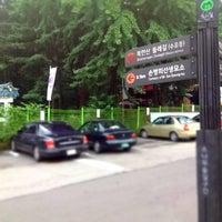 Photo taken at 북한산 둘레길 1코스 시작 by Sa C. on 7/7/2013