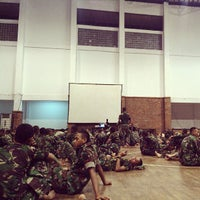 Photo taken at Divisi 1 Infanteri Kostrad Cilodong by Muhammad Z. on 10/15/2013
