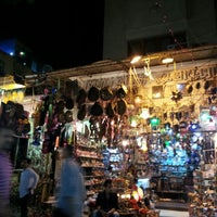 Photo taken at Khan Al-Khalili by Mimi T. on 10/29/2012
