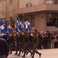 Photo taken at Leoforos Dimokratias by Mixalis N. on 3/25/2014