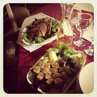 Снимок сделан в Пструг, хліб та вино пользователем Andriy K. 5/31/2013