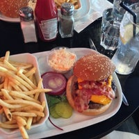 Photo taken at Indiana Café – Montparnasse by Charlie S. on 7/13/2013