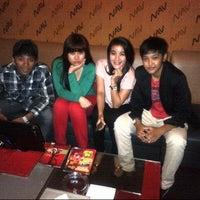 Photo taken at NAV Karaoke Keluarga by MIRA P. on 5/14/2013