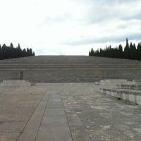 Photo taken at Sacrario militare di Redipuglia by Massimiliano R. on 7/7/2013