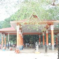 Photo taken at Oachira Temple by Prasanth P. on 3/8/2014