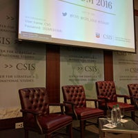 Photo taken at Center for Strategic and International Studies (CSIS) by mentalacrobatics on 5/19/2016