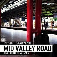 Photo taken at KTM Line - Mid Valley Station (KB01) by Jamaludin A. on 2/28/2013