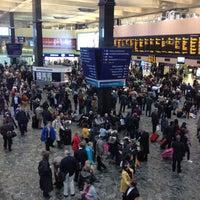 Photo taken at London Euston Railway Station (EUS) by David E. on 10/30/2012