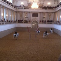 Photo taken at Spanish Riding School by Anna A. on 10/30/2012