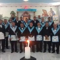 Photo taken at ARLS Cavaleiros da Harmonia by Jailson Gabriel d. on 5/21/2014