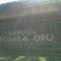 Photo taken at Baruga Somba Opu by Rea A. on 9/26/2013
