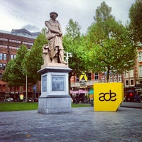 Photo taken at Rembrandtplein by alxspb on 10/17/2012