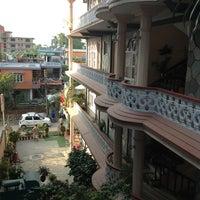 Photo taken at Hotel Himalayan Inn by Gluk N. on 11/9/2012