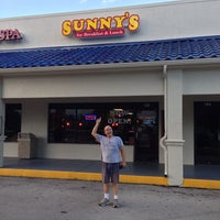 Photo taken at Sunny's For Breakfast & Lunch by John H. on 7/17/2013