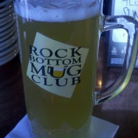 Photo taken at Rock Bottom Brewery by Jeff B. on 10/21/2012
