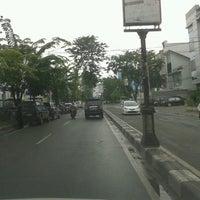 Photo taken at Jalan Iskandar Muda by Iqbal H. on 4/3/2013