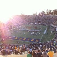 Photo taken at California Memorial Stadium by Xavier T. on 9/1/2013
