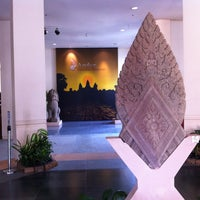 Photo taken at Angkor National Museum by Xavier T. on 2/9/2013